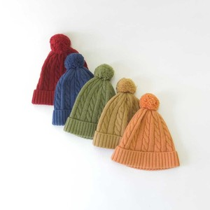 A/W Knitted Hat Cap Wing Cable Kids