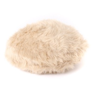 Fur Knitted Beret