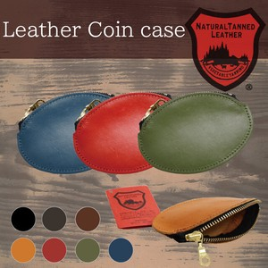 Tochigi Leather Series Wallet Round Coin Case Cow Leather