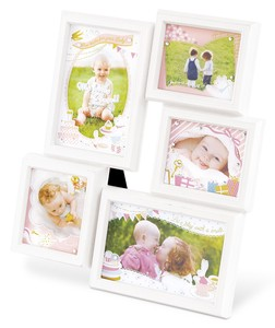 Baby Photo Frame Blue Pink