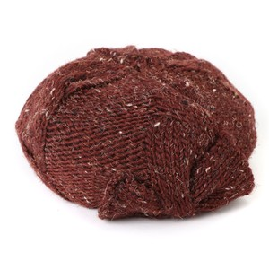 Nep Ribbon Knitted Beret