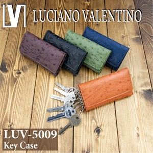 Valentino Ostrich Push Key Case