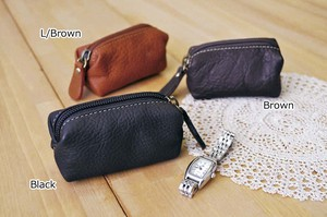 Cow Leather Pouch Cube