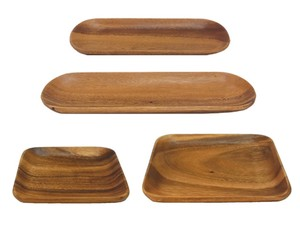 Big Acacia Tray Square Long Tray