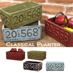 Planter Number Plate