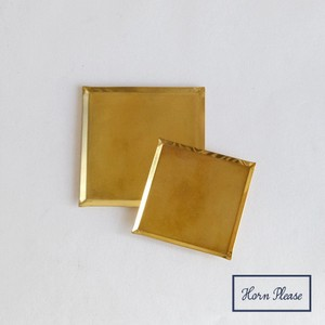 Brass Brass Coaster Square