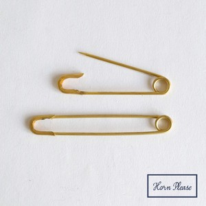 Brass Round Tea pin