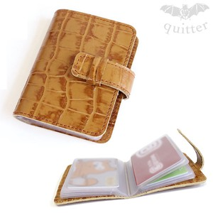 Genuine Leather Card Case Maid Japan