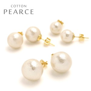 MAGGIO Cotton Pearl Pierced Earring Local Finish Standard