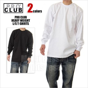 PRO CLUB Club Long Sleeve T-shirt Heavy