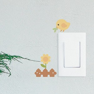 Mini Wall Stickers/ミニウォールステッカー/Baby Bird Rolly