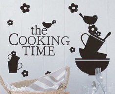 Mini Wall Stickers/ミニウォールステッカー/Cooking Pattern
