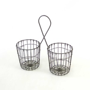 Point Reduction Iron Lattice Planter Double