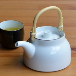 Basic Sencha Earthen Teapot Japanese Tea Pot HASAMI Ware