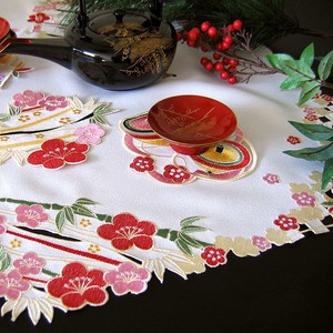 Geisyun New Year Embroidery Lace Table Runner