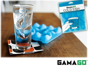 【 GAMAGO】 COLD FISH ICE CUBE TRAY silicone ice tray