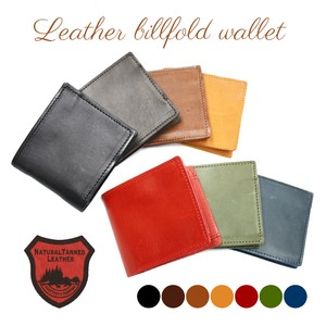 Tochigi Leather Series Clamshell Wallet Cow Leather