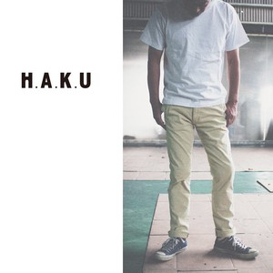 Material Tapered Pants H.A.K.U