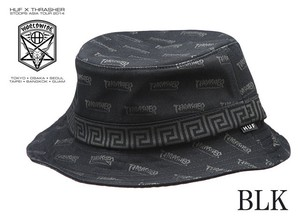 HUF X THRASHER BUCKET HAT  13126