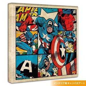 キャプテンアメリカのアートパネル(mvl-0025)