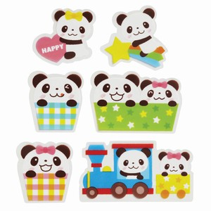 Bento (Lunch Box) Product Antibacterial rose Set Panda Bear