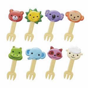 Bento (Lunch Box) Product Friendly Animal Fork Pick