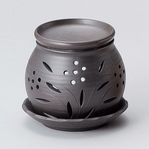 Deodorize Black Circle Incense Burner
