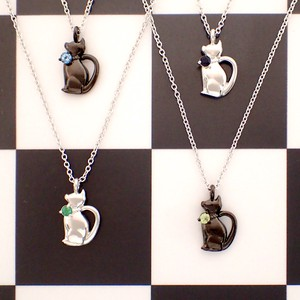Osumashi A Little Adult Cat Birthstone Pendant