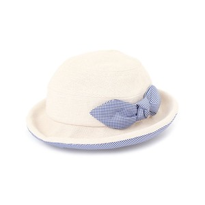 Baby Kids Gingham Ribbon Sailor Hat