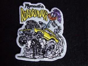 Racing Patch Runner Die Cut