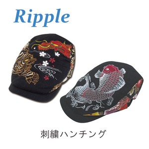 Japanese Pattern Embroidery Flat cap Hats & Cap
