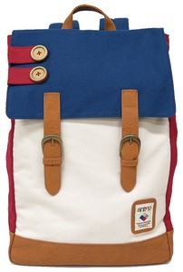 Canvas Button Square Backpack