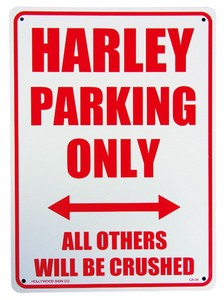 Harley Exclusive Use Plastic Board