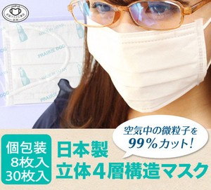Mask Solid Construction Non-woven Cloth Mask
