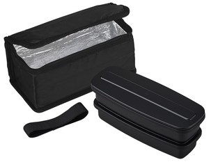 Lunch Box 2 Steps Cold Insulation Bag