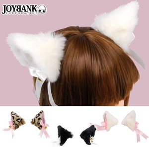 Fluffy Attached Hair Clip color