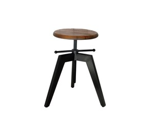 Clan Stool Black
