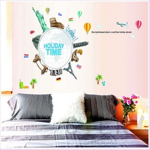 Wall Sticker Scandinavia Colorful Life