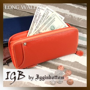 Igginbottom Bottom Basic Card Slider Round Long Wallet