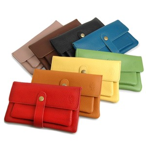 soft Genuine Leather Long Wallet