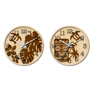 Hawaiian Clock 2 Types Taste Hawaii Motif