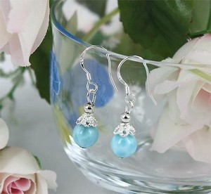 Popular Natural stone High Quality Pierced Earring