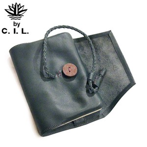 Hand Craft Leather Book Notebook Case Ladies