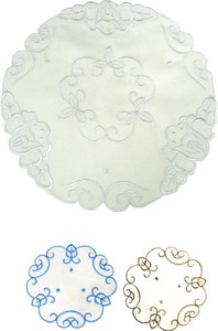 Embroidery Place Mat Round shape