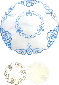 Embroidery Place Mat Round shape 30cm