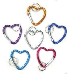 Heart-shaped Aluminium Holder