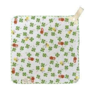 Outlet Towel Pocket Handkerchief Clover