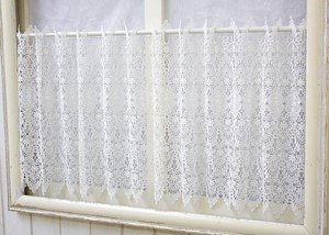 All Lace Cafe Curtain
