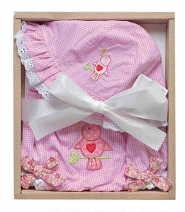 Baby Hat Bloomers Gift Set Bird 12Months