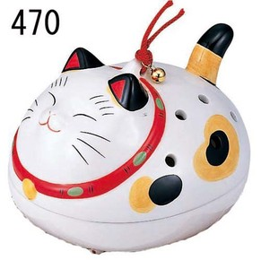 Japanese summer features Ornament Interior Cat Mosquito Coil Stand type